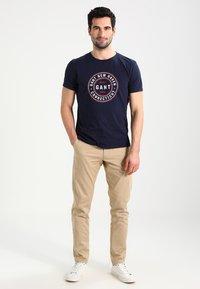 GANT - Kalhoty - khaki - 1
