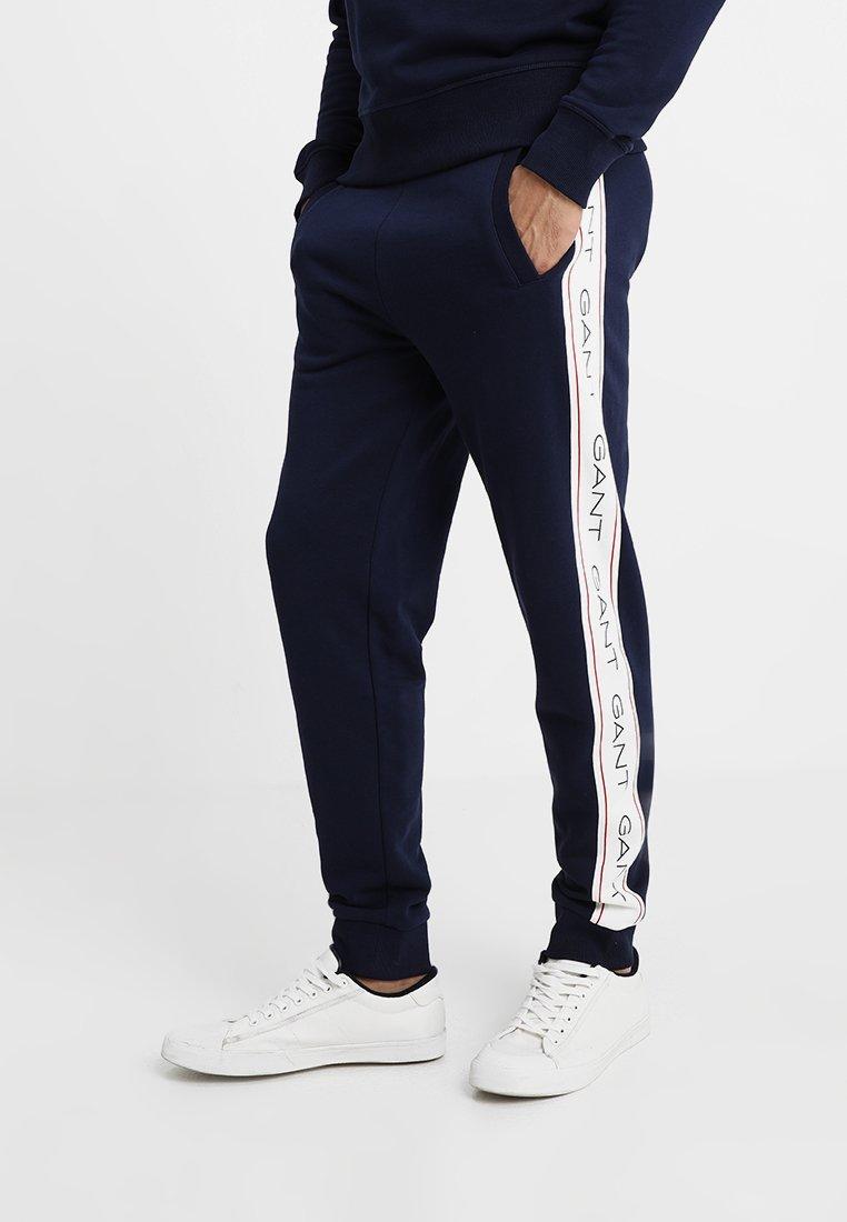 GANT - ICONIC PANT - Spodnie treningowe - evening blue