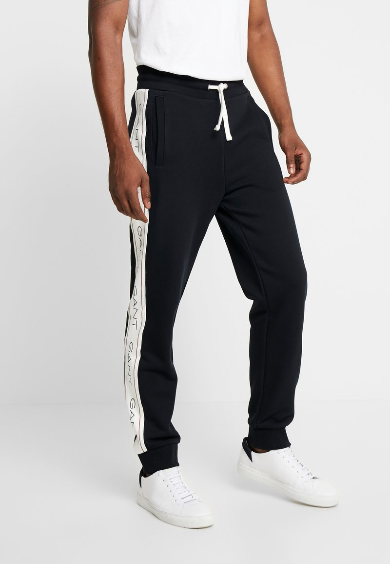 GANT - ICONIC PANT - Pantaloni sportivi - black