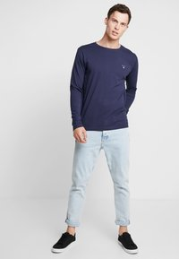 GANT - THE ORIGINAL - Top s dlouhým rukávem - evening blue - 1