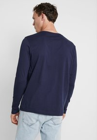GANT - THE ORIGINAL - Top s dlouhým rukávem - evening blue - 2