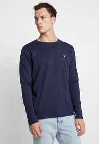 GANT - THE ORIGINAL - Top s dlouhým rukávem - evening blue - 0