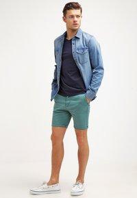 GANT - THE ORIGINAL  SLIM FIT - T-shirt basic - evening blue - 1