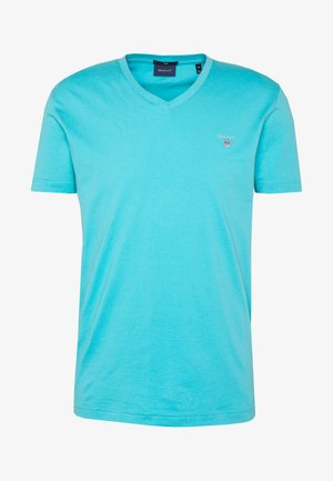 THE ORIGINAL  SLIM FIT - Jednoduché triko - light aqua