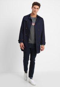 GANT - SHIELD - Långärmad tröja - dark grey melange - 1