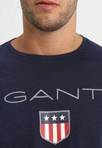 GANT - SHIELD - T-shirt à manches longues - evening blue - 4