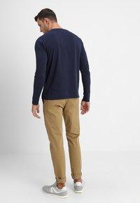 GANT - SHIELD - T-shirt à manches longues - evening blue - 2