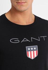 GANT - SHIELD - Top sdlouhým rukávem - black - 4