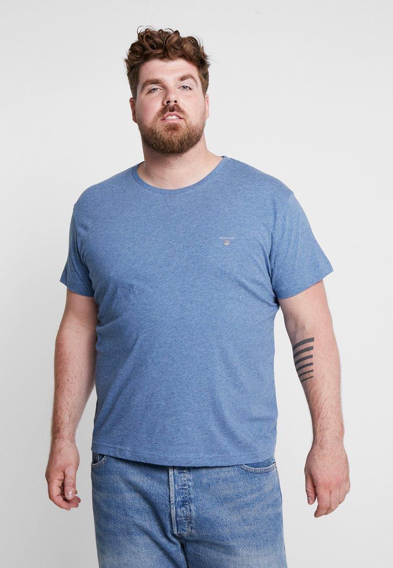 GANT - THE ORIGINAL - Camiseta básica - denim blue melange