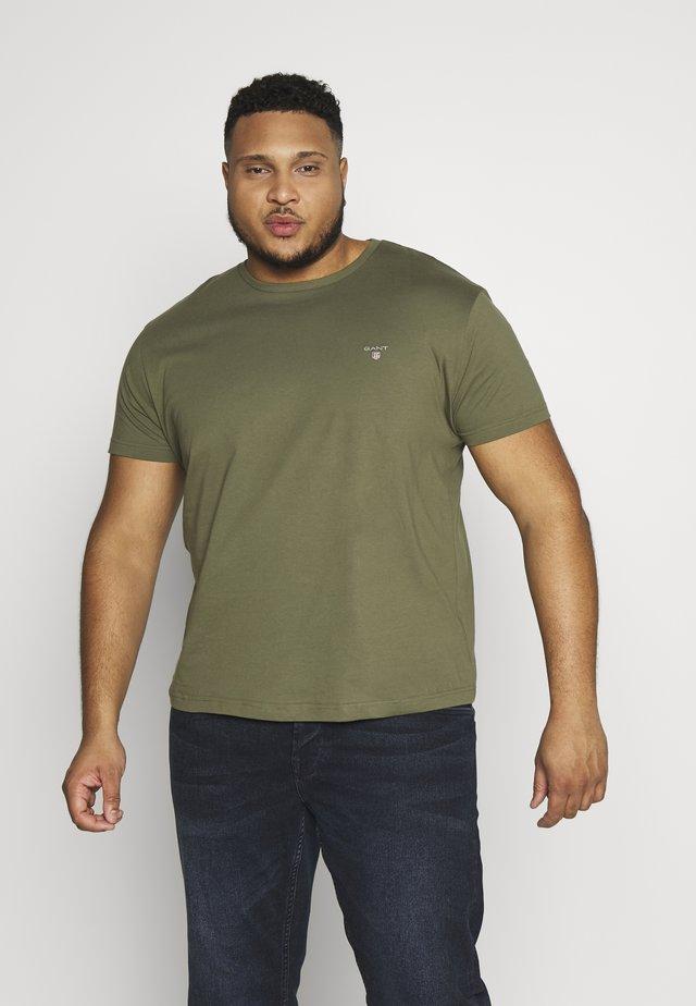 T-shirt - bas - olive