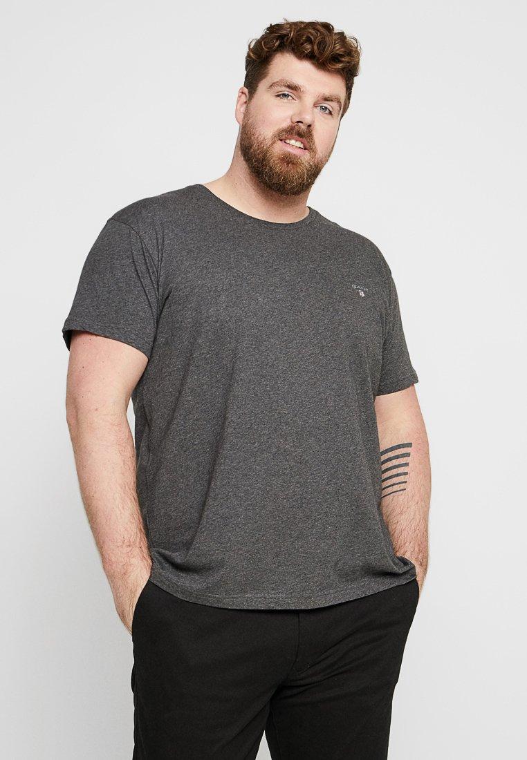GANT - THE ORIGINAL - T-shirt - bas - anthracite