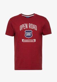 GANT - GRAPHIC  - Camiseta estampada - mahogny red - 3