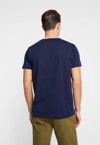 GANT - GRAPHIC  - T-shirt imprimé - evening blue - 2