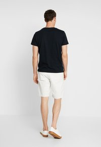 GANT - STRIPE  - T-shirt imprimé - black - 2