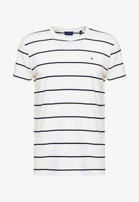 GANT - BRETON STRIPE - T-shirt imprimé - eggshell - 4
