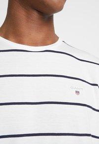 GANT - BRETON STRIPE - T-shirt imprimé - eggshell - 5