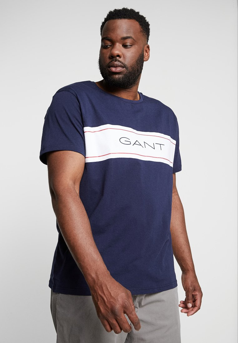 GANT - ARCHIVE  - Camiseta estampada - evening blue