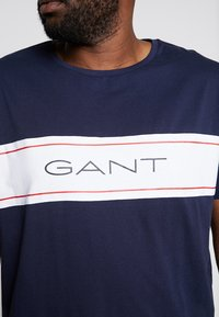 GANT - ARCHIVE  - Camiseta estampada - evening blue - 5