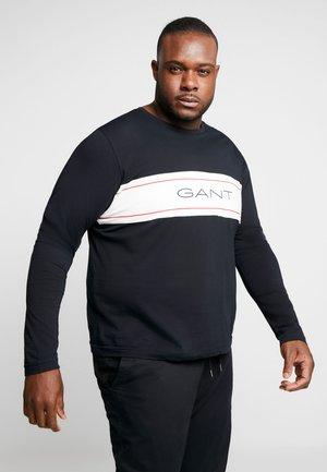 ARCHIVE - T-shirt à manches longues - black