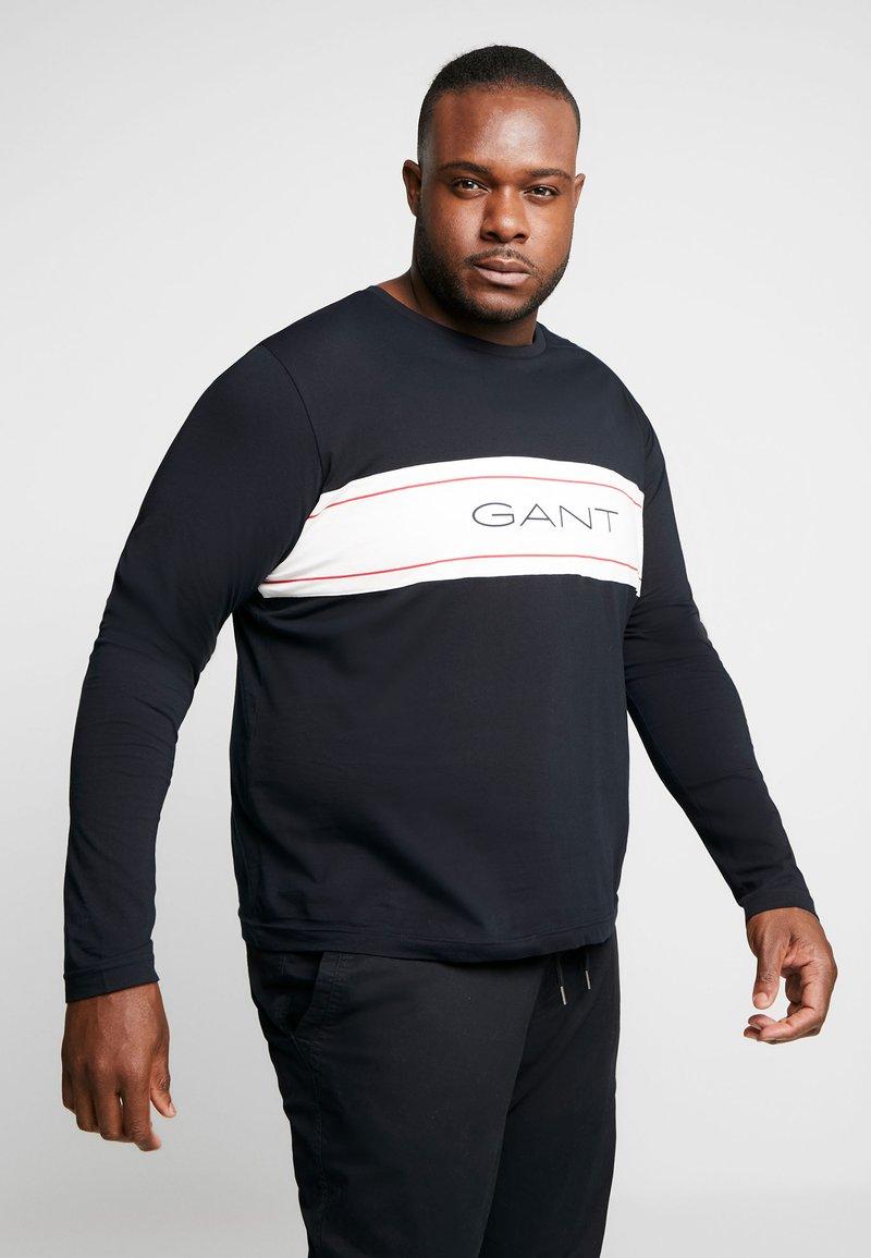 GANT - ARCHIVE - Långärmad tröja - black
