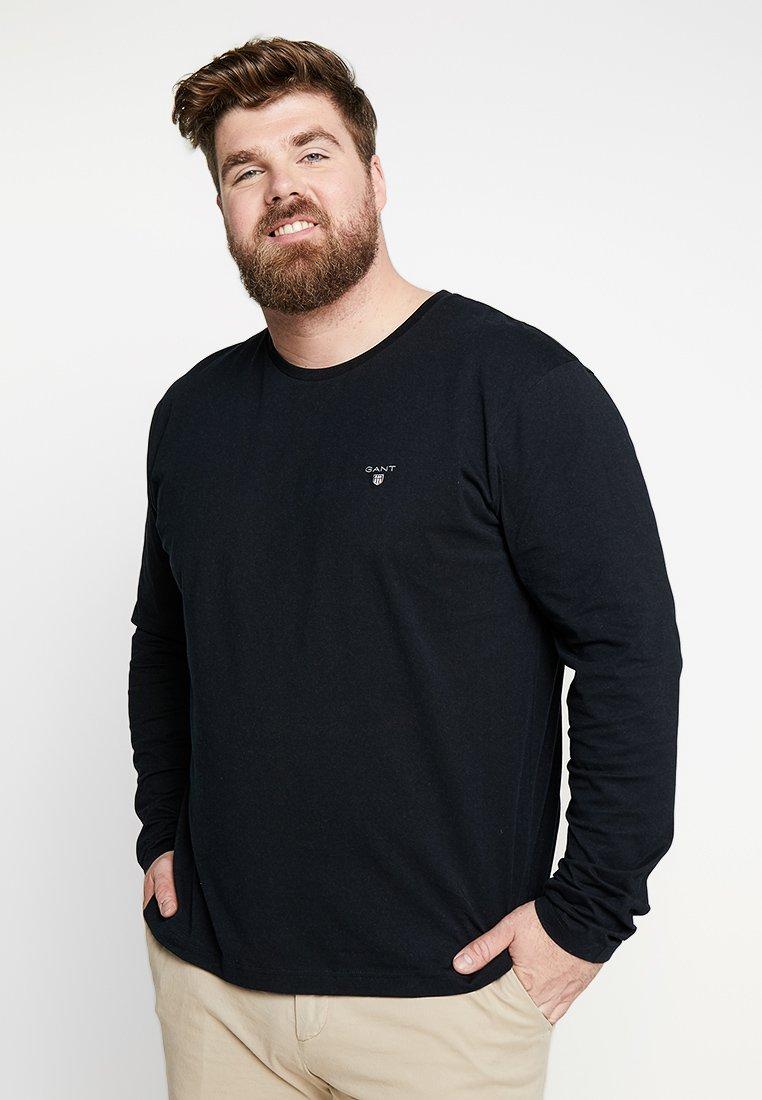 GANT - THE ORIGINAL - Long sleeved top - black