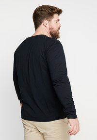 GANT - THE ORIGINAL - Long sleeved top - black - 2