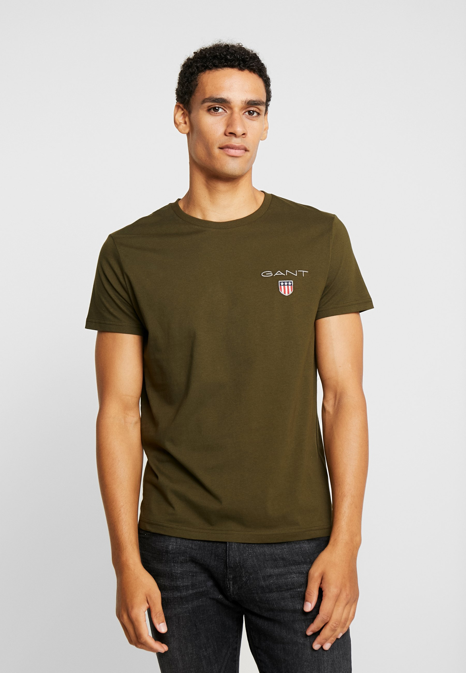 Green shirt Field ShieldT Medium Imprimé Gant yIvfYb76g