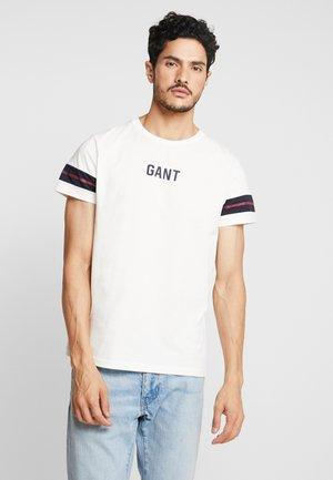 Camiseta estampada - eggshell