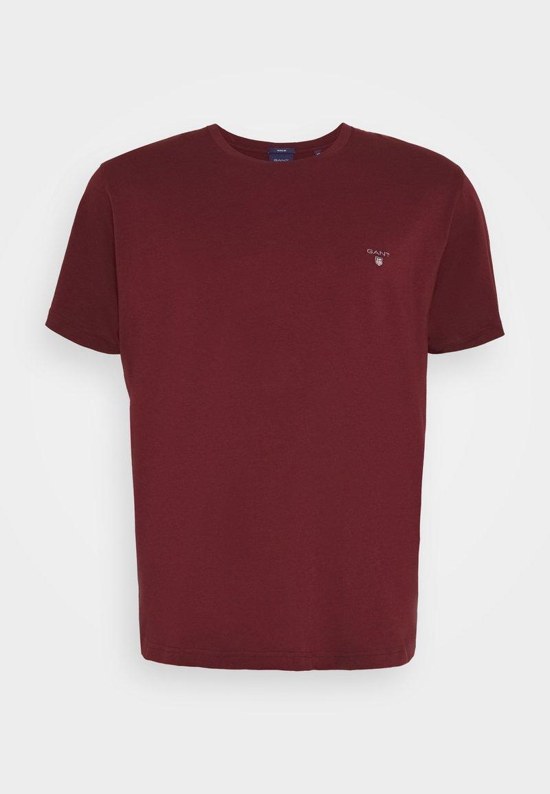 GANT - THE ORIGINAL - Camiseta básica - port red