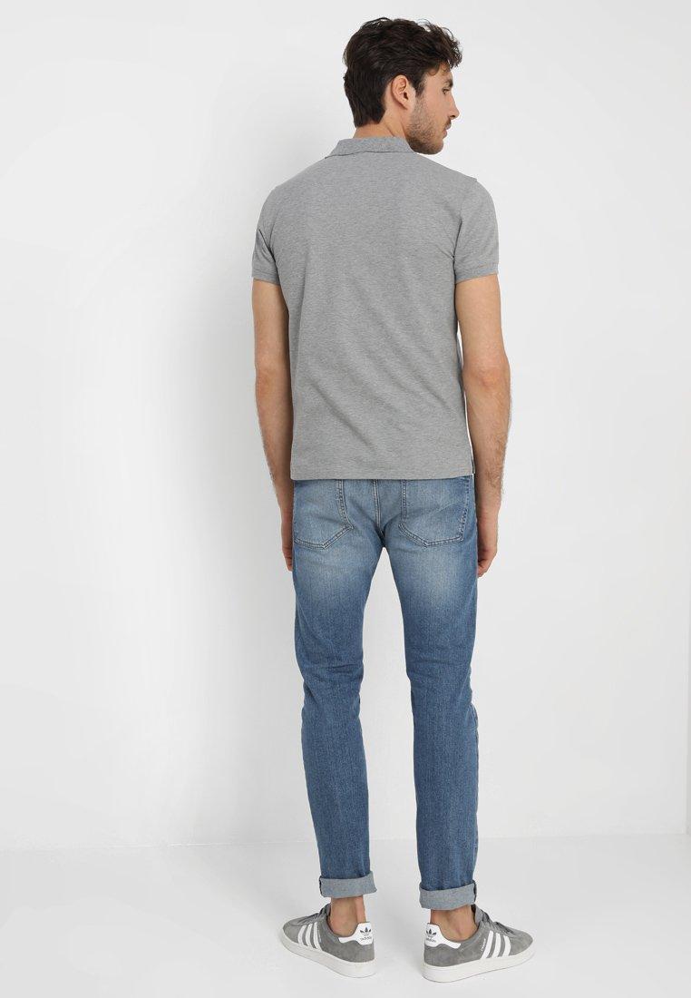 Melange Grey Gant Contrast Gant CollarPolo Contrast 35j4ARL