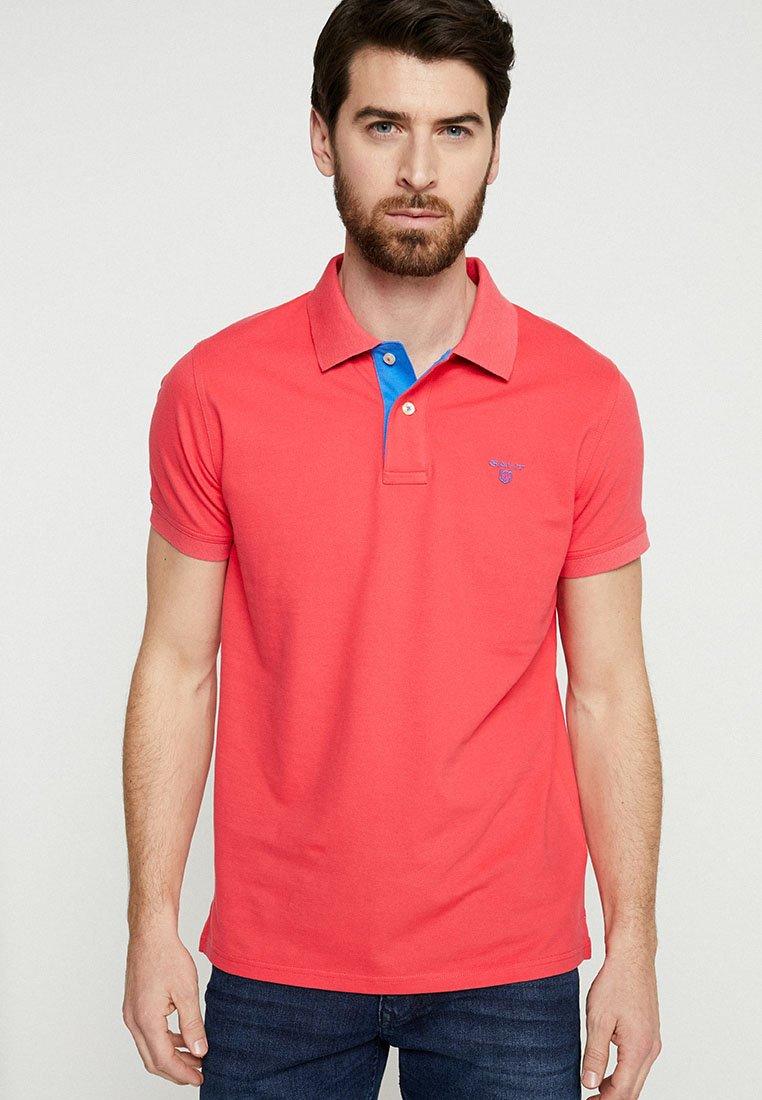 GANT - CONTRAST COLLAR - Poloshirt - watermelon red