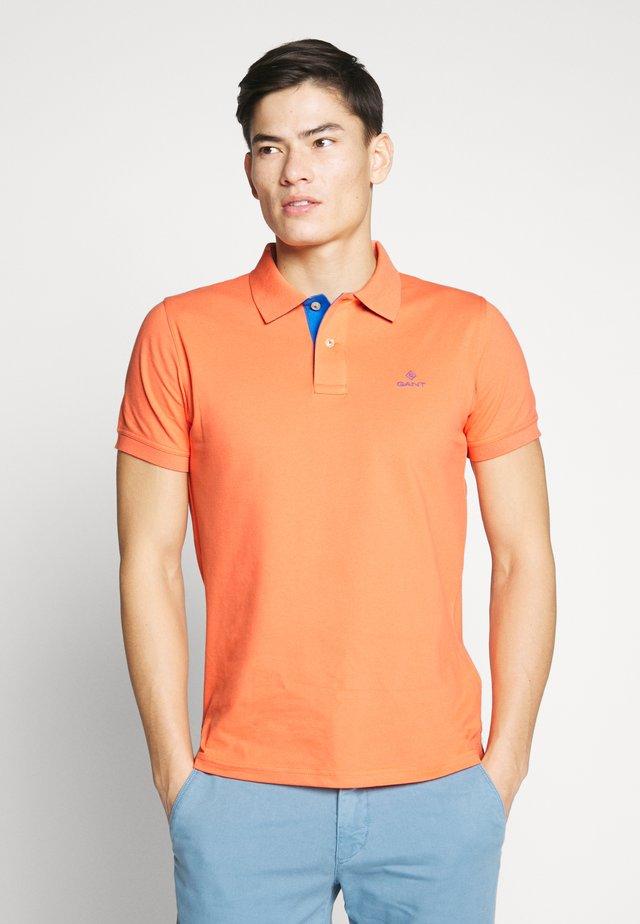 Polo - coral orange