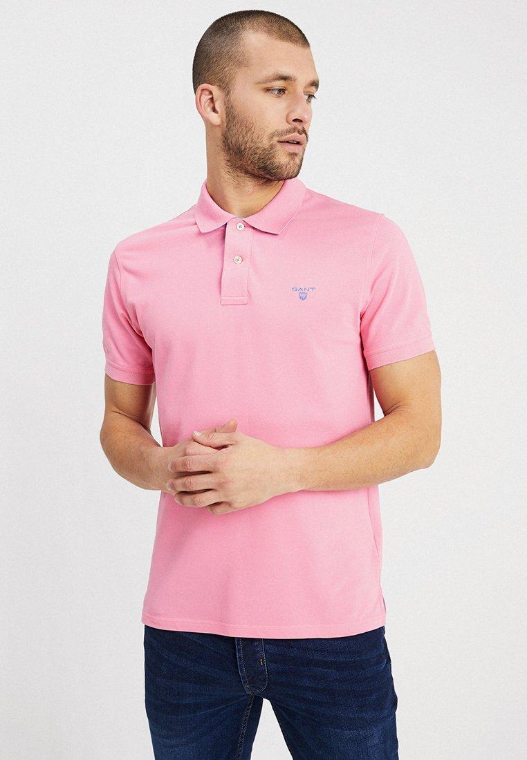 GANT - CONTRAST COLLAR - Poloshirt - pink rose