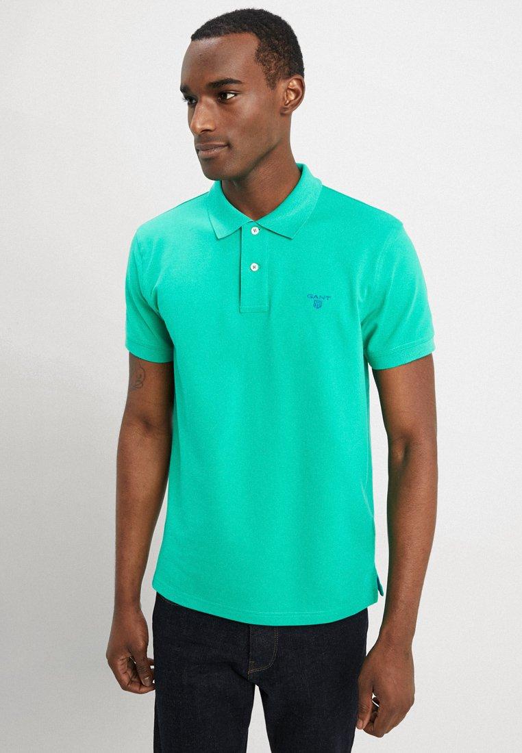 GANT - CONTRAST COLLAR - Poloshirt - blarney green