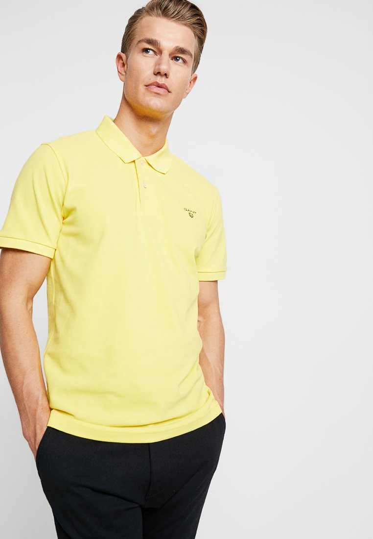 Gant SummerPolo SummerPolo The The The SummerPolo Gant Gant Yellow Yellow Yellow 1lKcFJT3