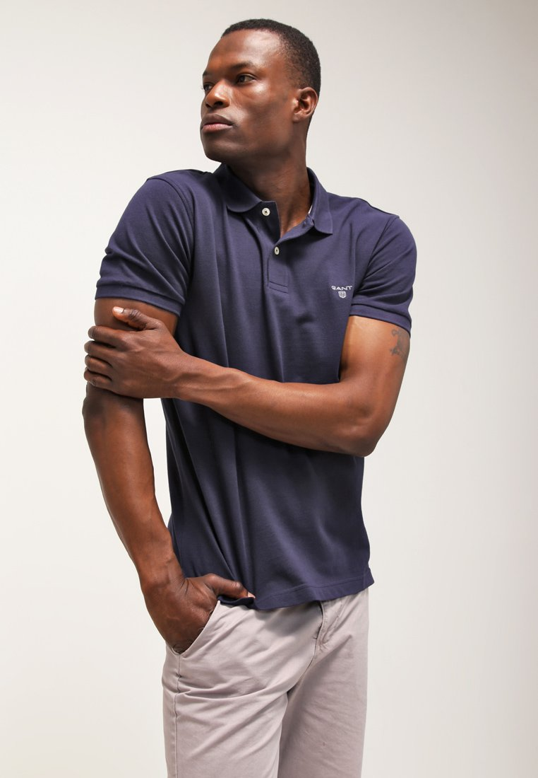 GANT THE SUMMER - Koszulka polo - navy