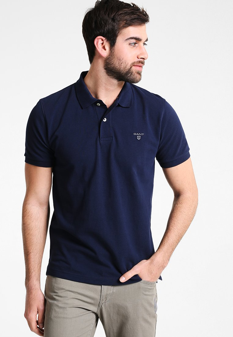 Gant SummerPolo Gant Shadow SummerPolo Blue The The 3R4jLA5