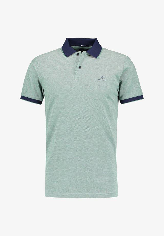 OXFORD RUGGER - Polo shirt - pistazie
