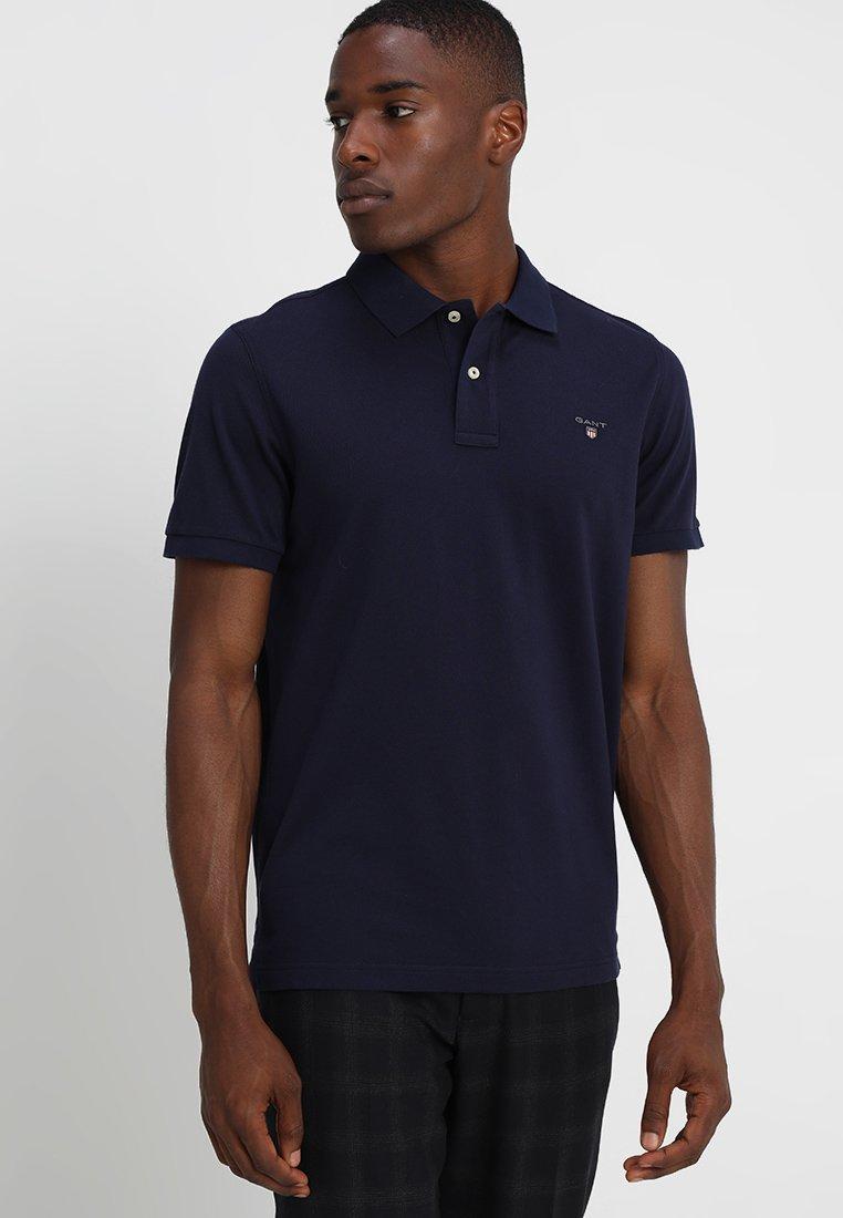 GANT - THE ORIGINAL RUGGER - Poloshirt - evening blue