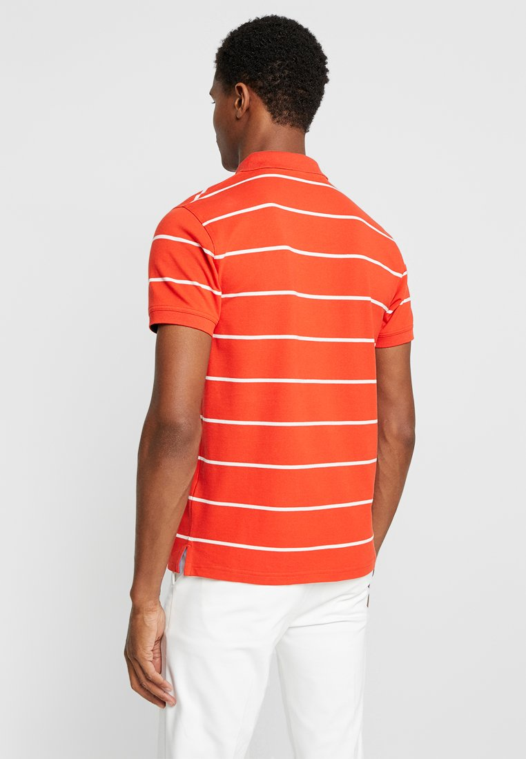 Gant Blood Stripe Orange RuggerPolo Contrast c35qSARj4L