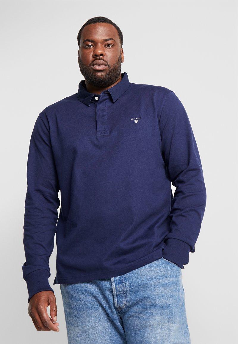 GANT - PLUS THE ORIGINAL HEAVY RUGGER - Poloshirt - evening blue