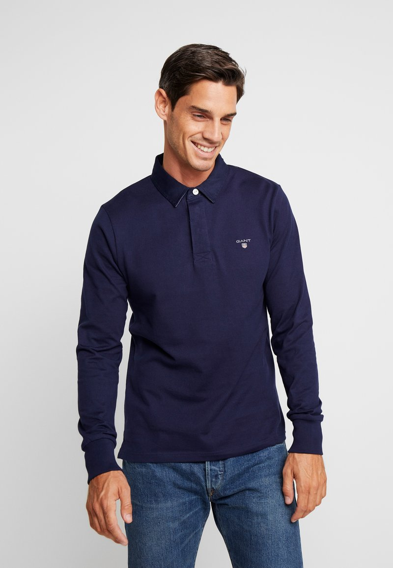 GANT - THE ORIGINAL HEAVY RUGGER - Poloshirt - evening blue