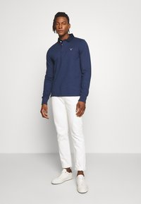 GANT - THE ORIGINAL HEAVY RUGGER - Piké - marine melange - 1