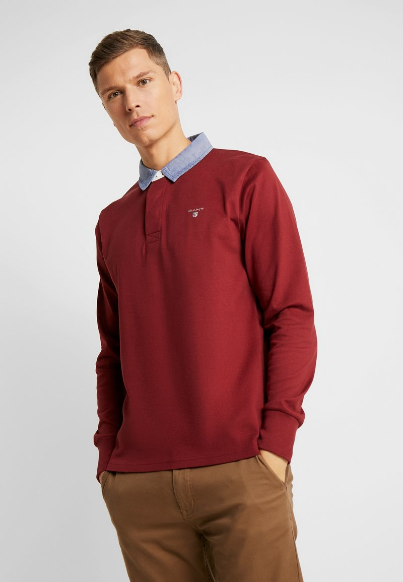 GANT - THE ORIGINAL HEAVY RUGGER - Pullover - crimson red