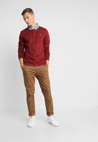 GANT - THE ORIGINAL HEAVY RUGGER - Pullover - crimson red - 1