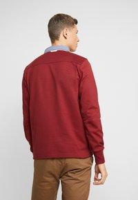 GANT - THE ORIGINAL HEAVY RUGGER - Pullover - crimson red - 2