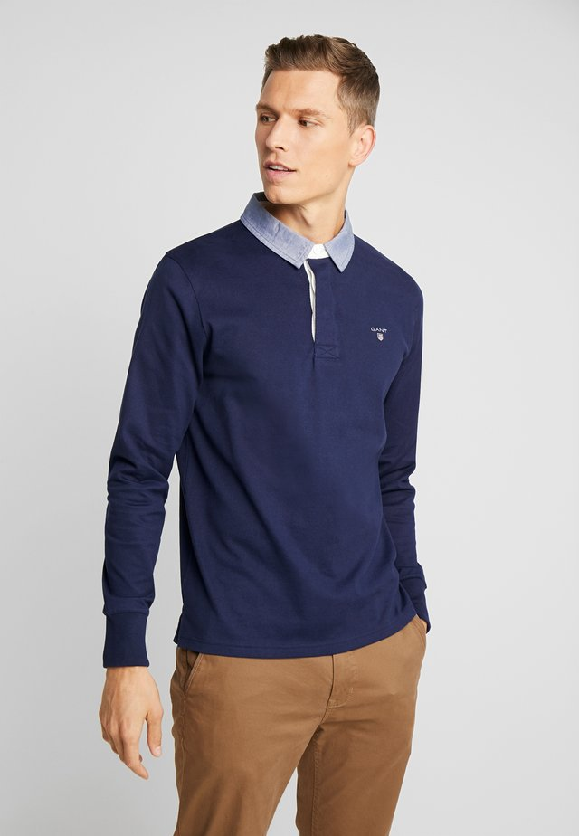 THE ORIGINAL HEAVY RUGGER - Maglione - evening blue