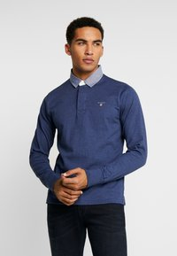 GANT - THE ORIGINAL HEAVY RUGGER - Pullover - navy melange - 0