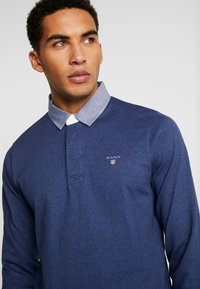 GANT - THE ORIGINAL HEAVY RUGGER - Pullover - navy melange - 3