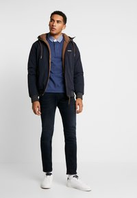 GANT - THE ORIGINAL HEAVY RUGGER - Pullover - navy melange - 1
